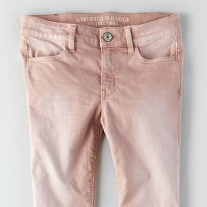 AE Blush Pink Jeans